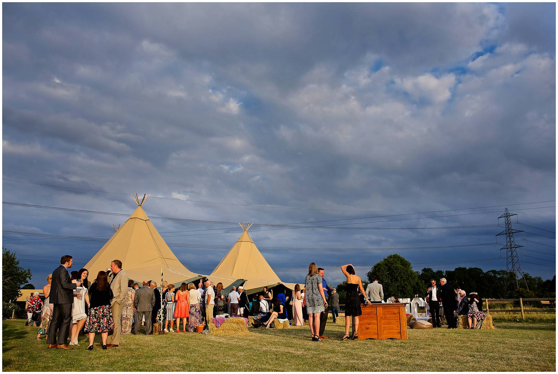 Tipi Wedding in Essex