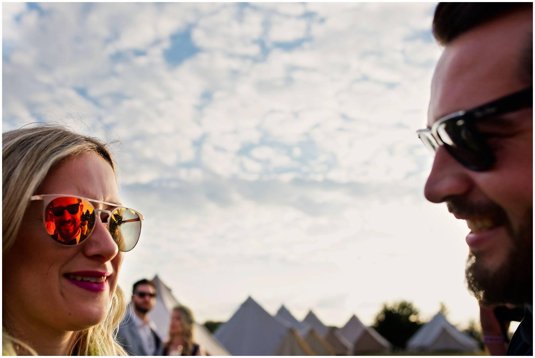 Essex festival wedding