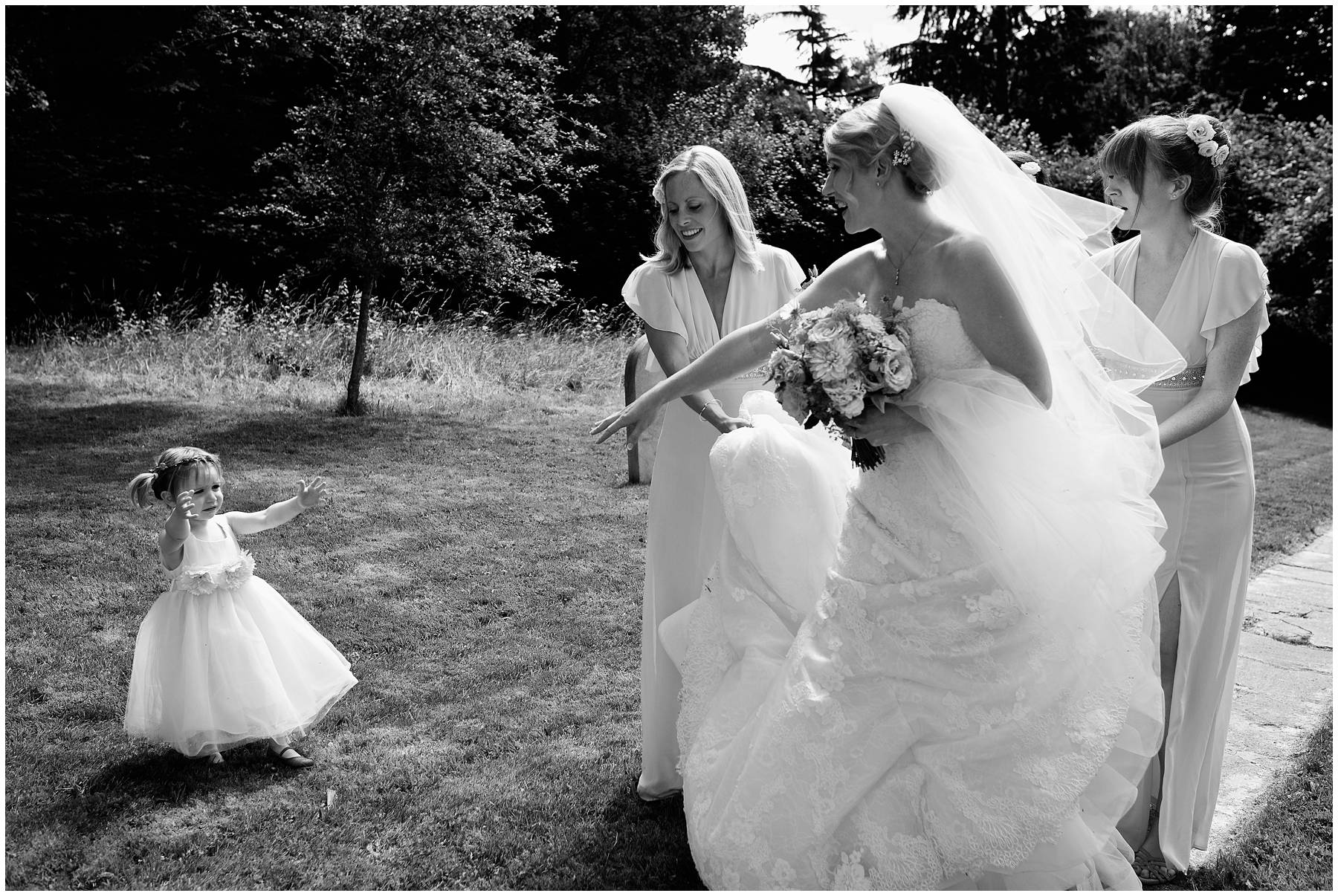 Reportage wedding photography in Somerset