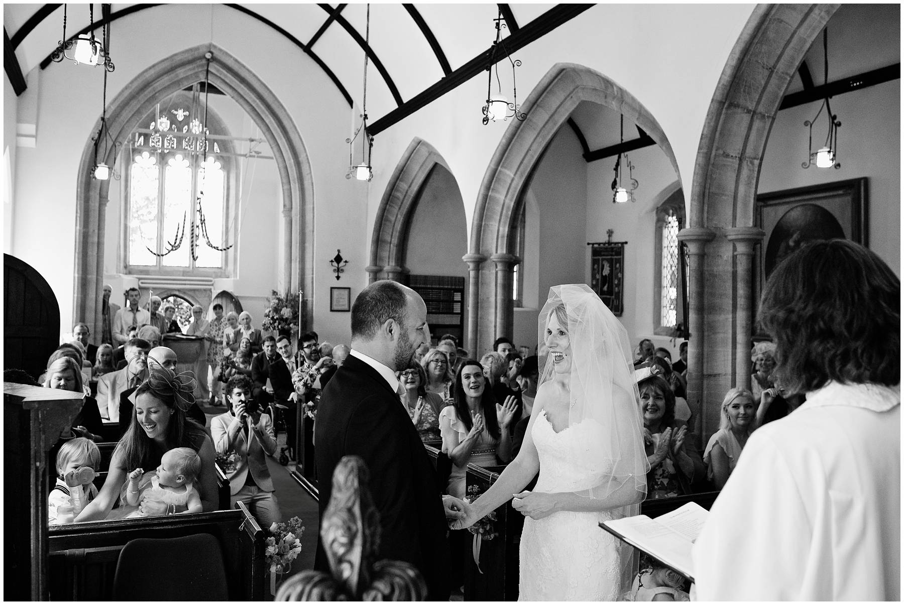 Wedding at St Michael's Church, Chaffcombe