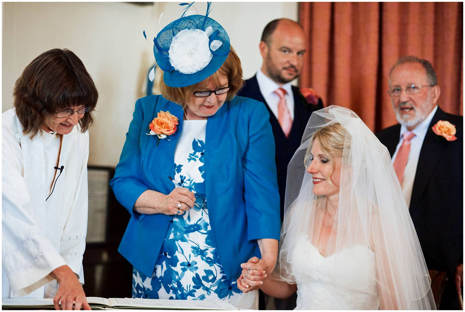Documentary wedding photography in Somerset
