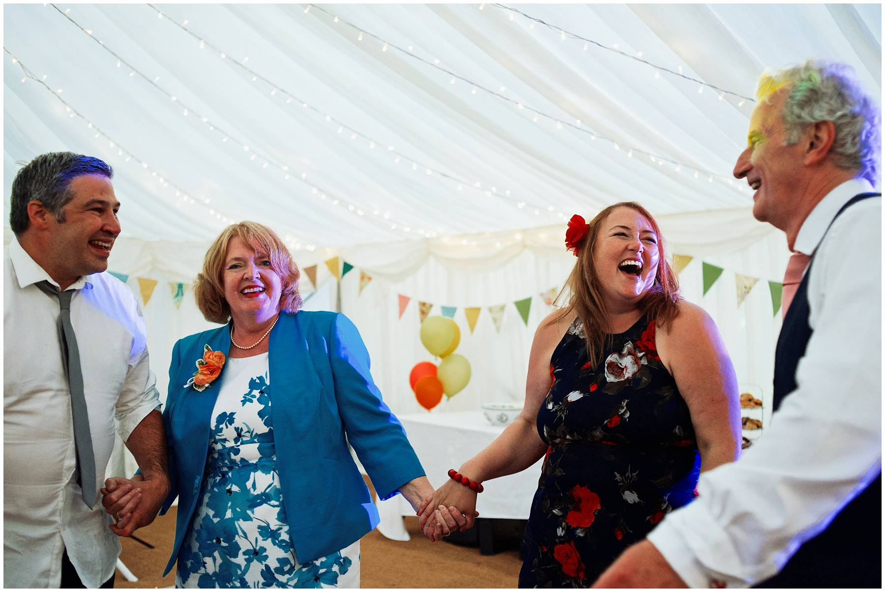Wedding dancing in Somerset