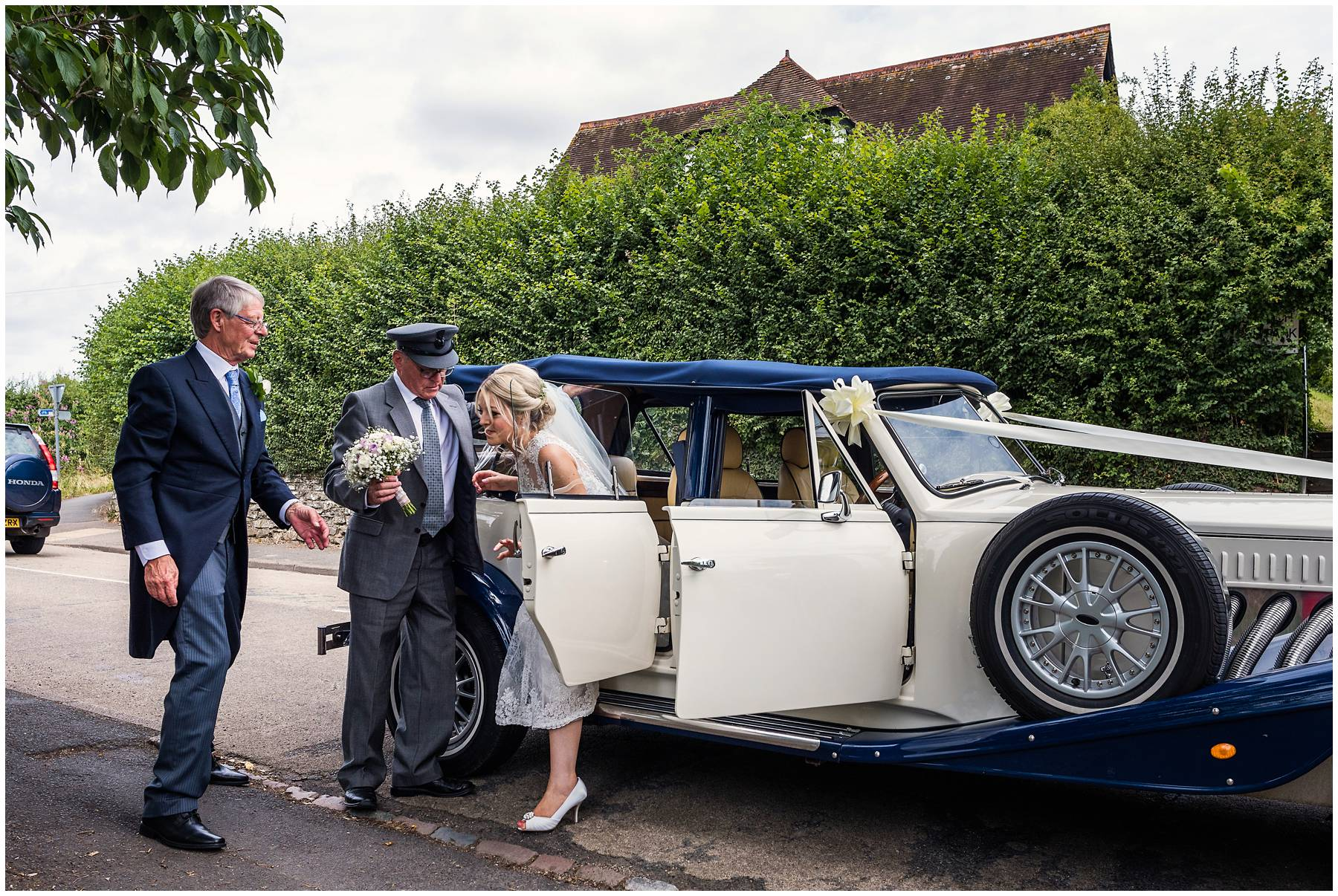 Worcestershire Wedding Car