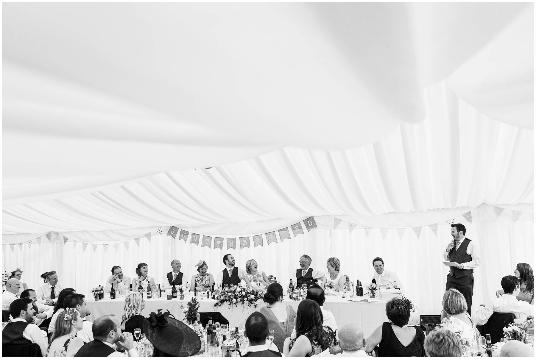 Marquee Wedding at Spetchley Park