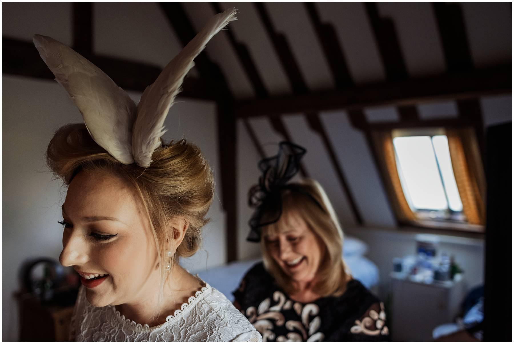 Bridal prep in Kent