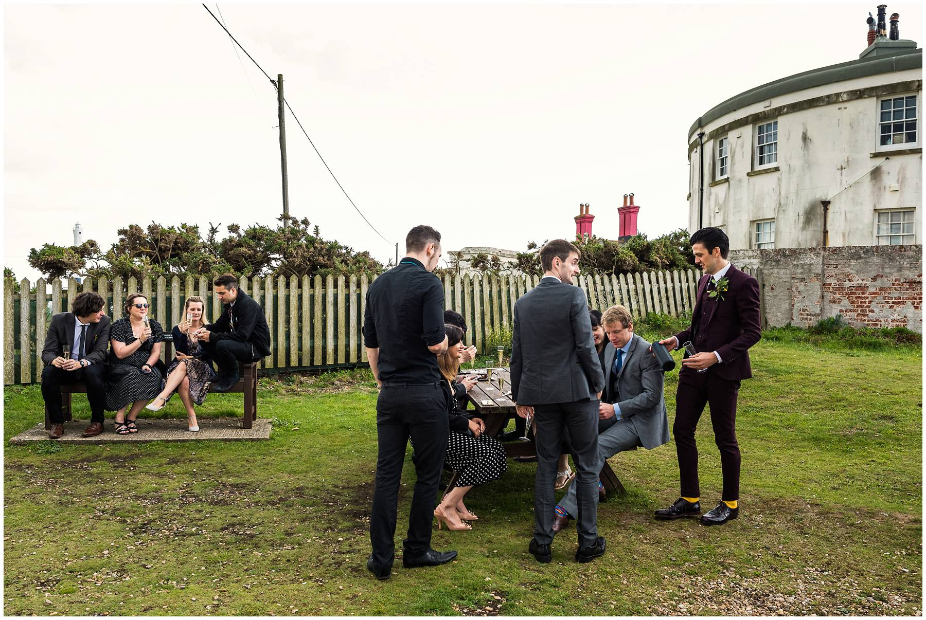 The Old Lighthouse Dungeness Wedding Photographer