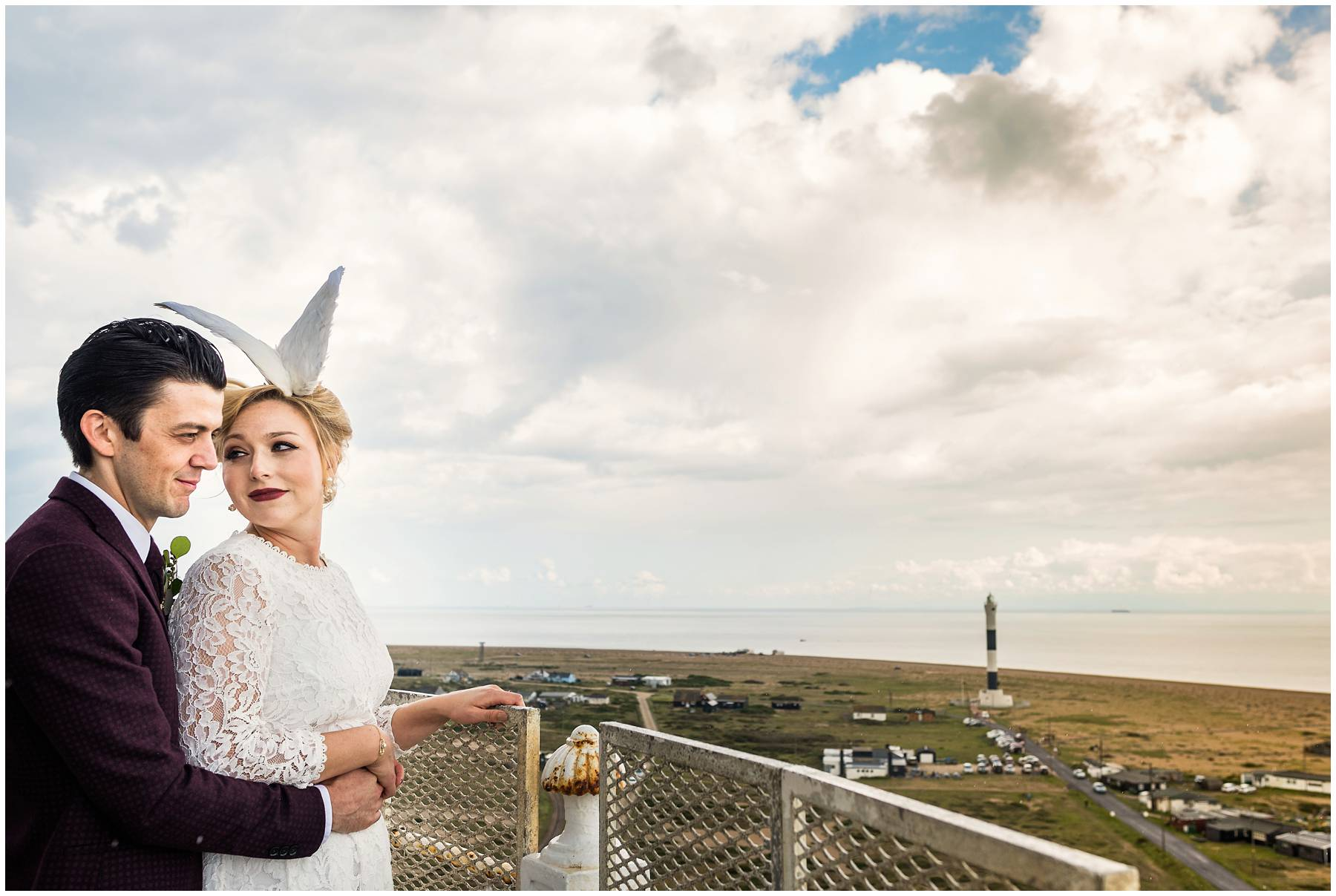 bridal taxidermy in Dungeness