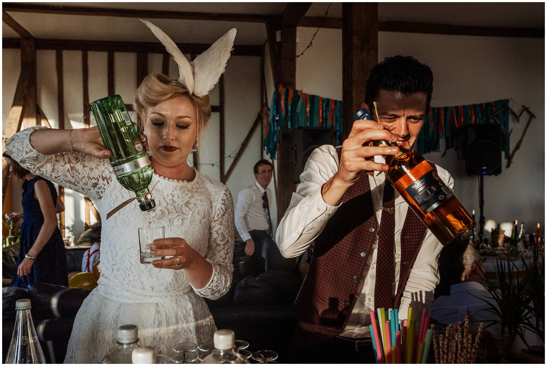 Alternative wedding style in Kent