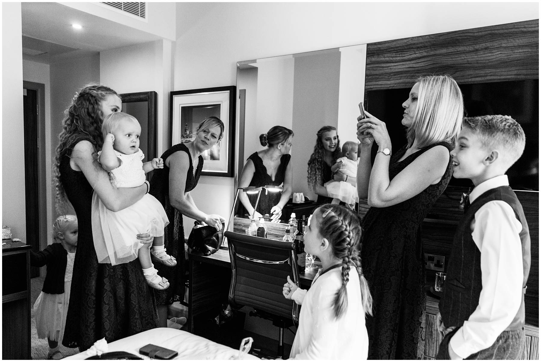 Bridal prep at the Double Tree Islington