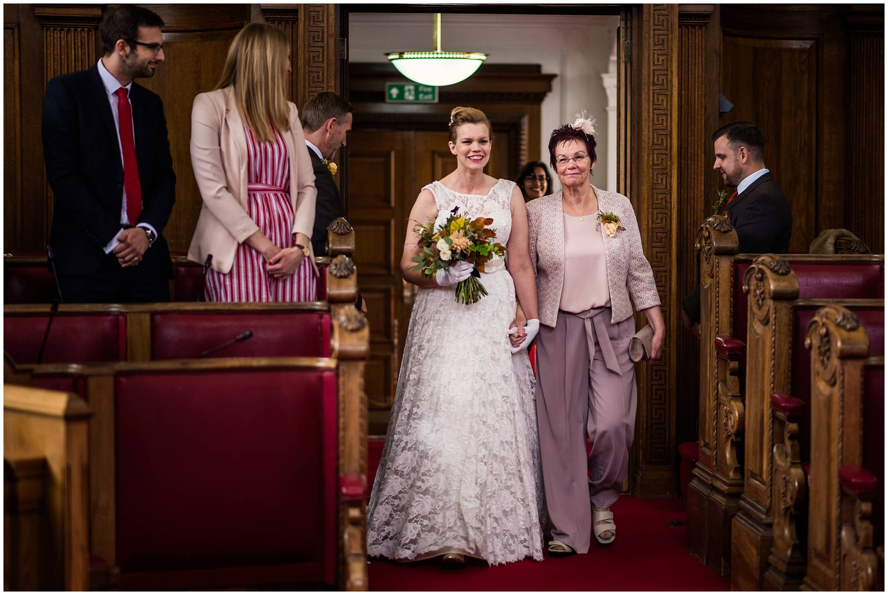Same sex wedding at Islington Town Hall