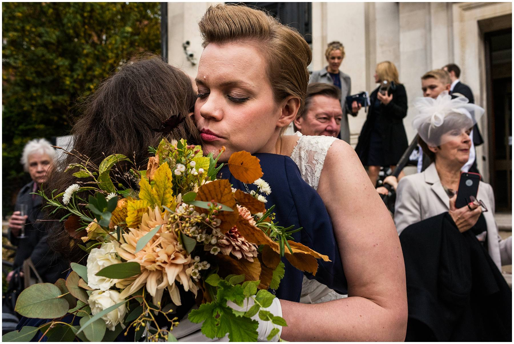 Autumn London Wedding