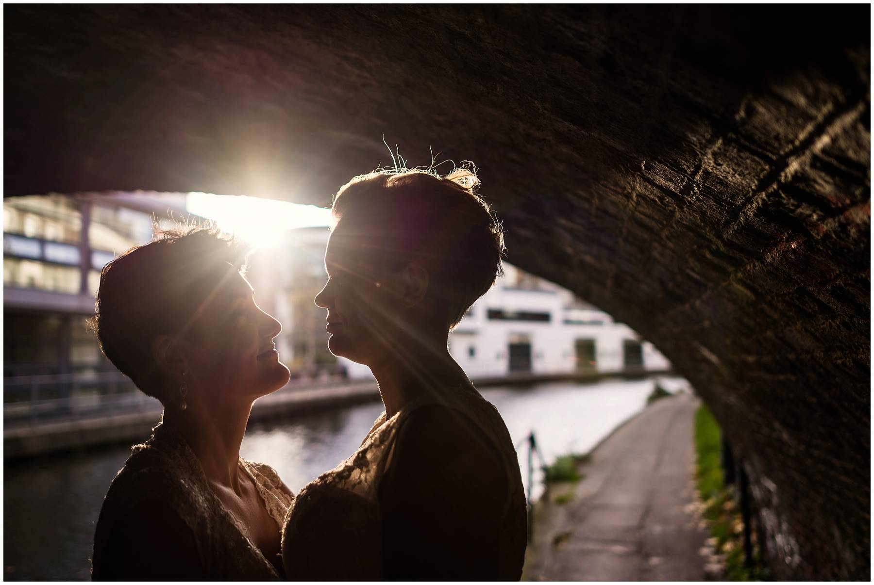 Creative Wedding Photography at Prince Albert Pub, Camden