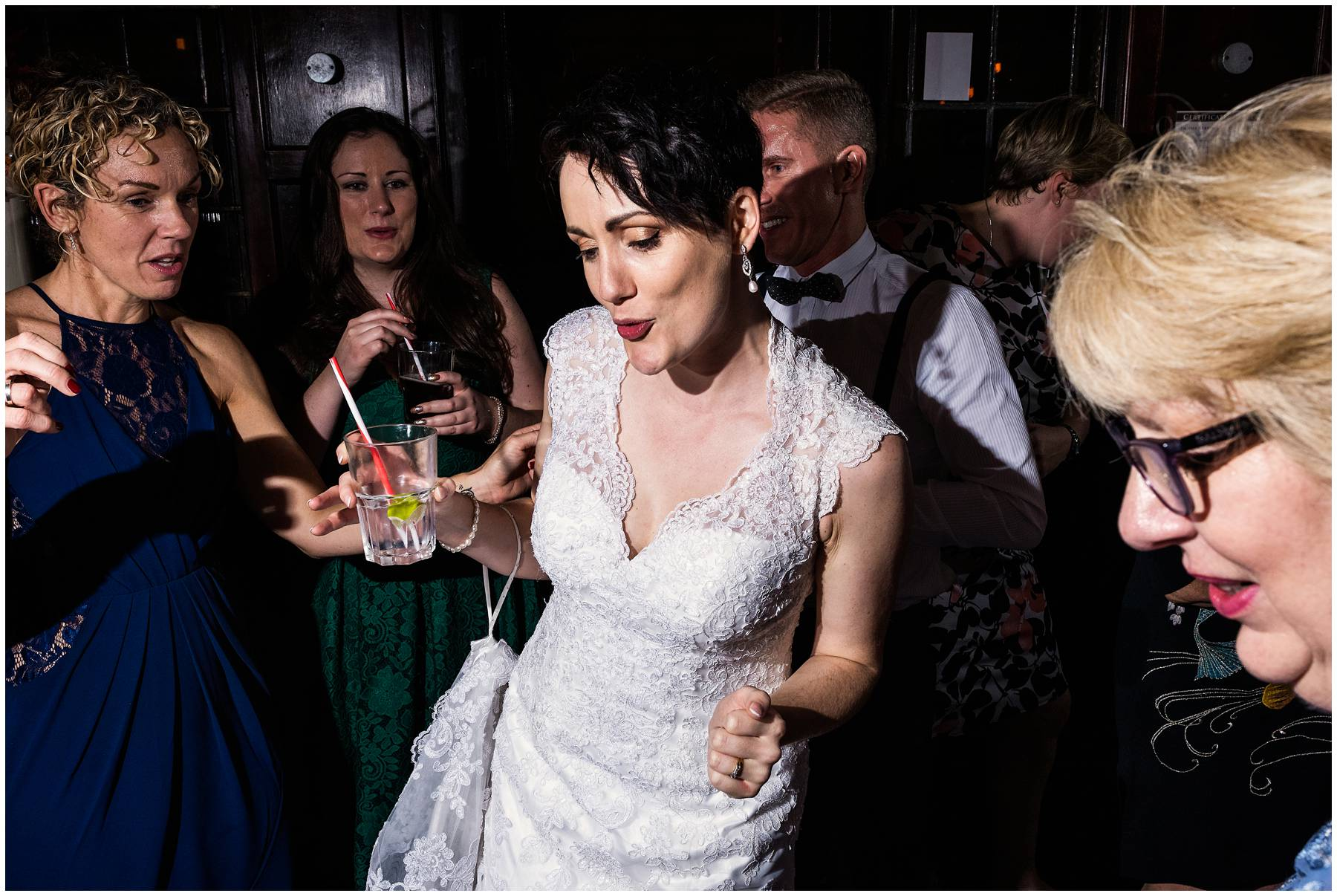 Natural Wedding Photography at Prince Albert Pub, Camden