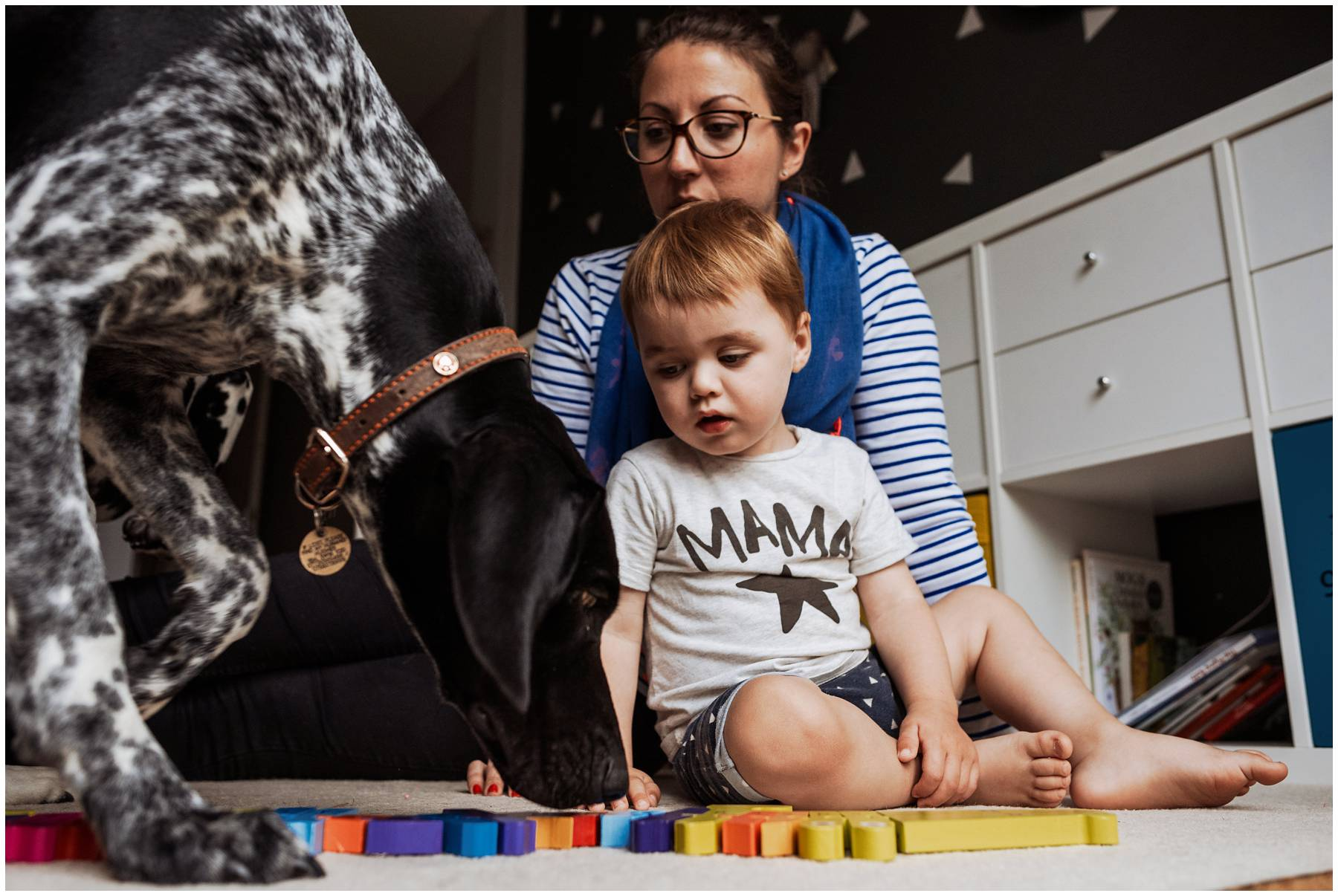 Natural family photography in London