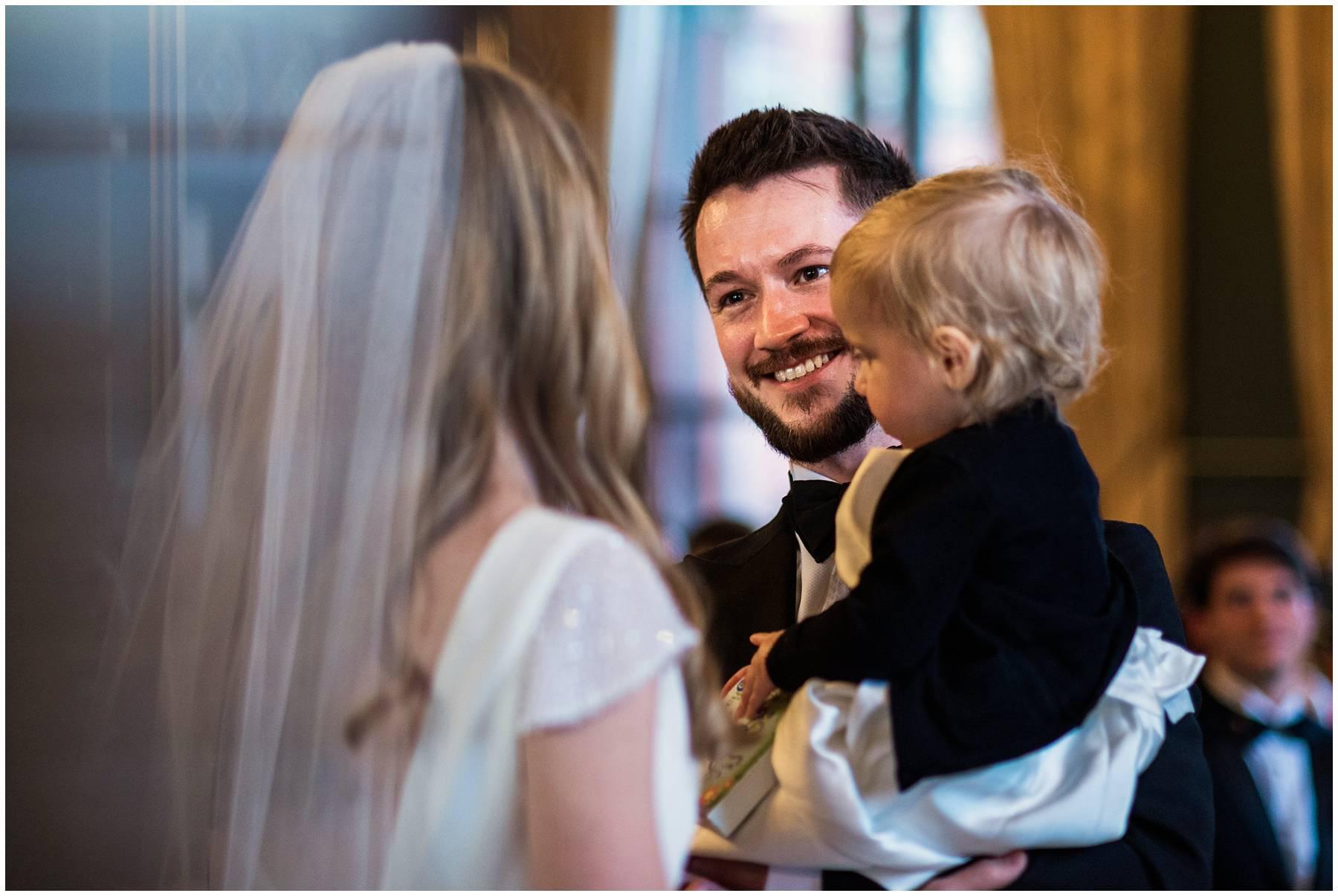 Wedding ceremony at St Pancras Renaissance Hotel
