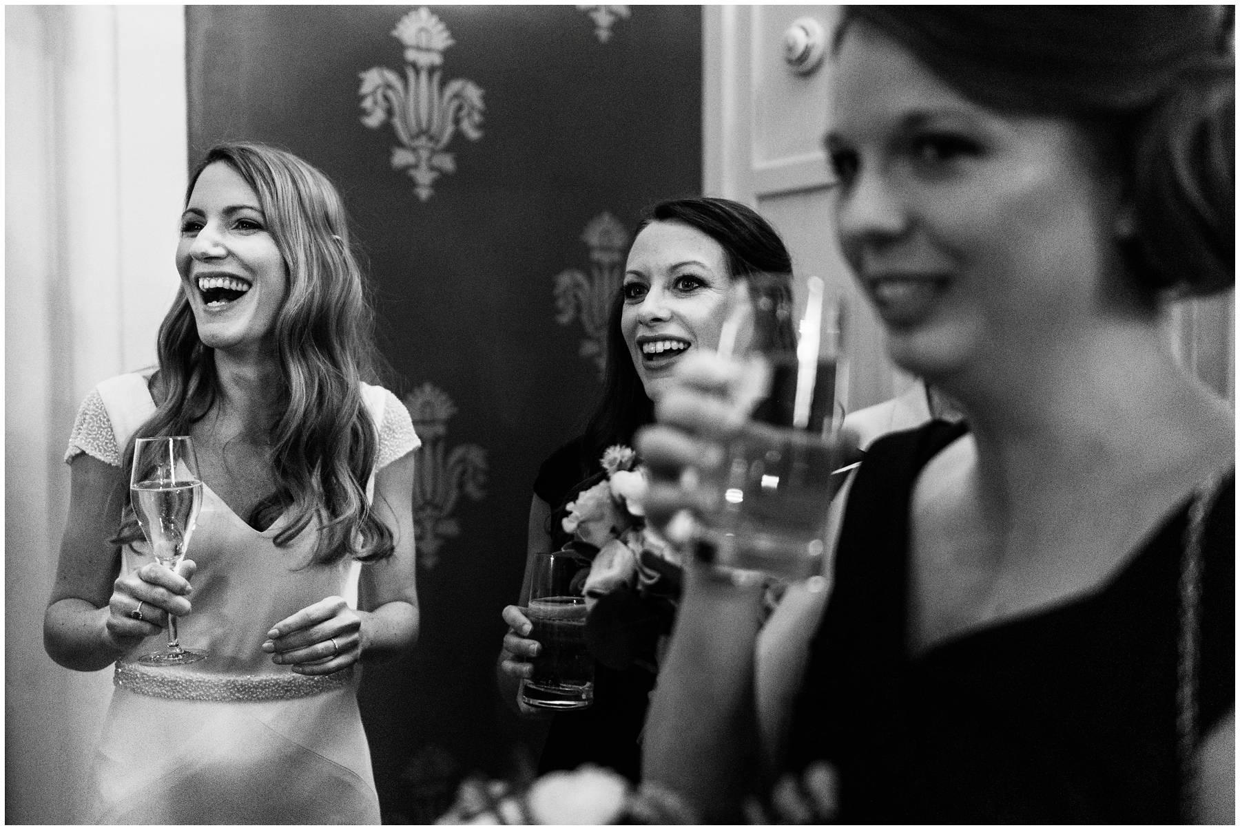 Bridal party at St Pancras Renaissance Hotel