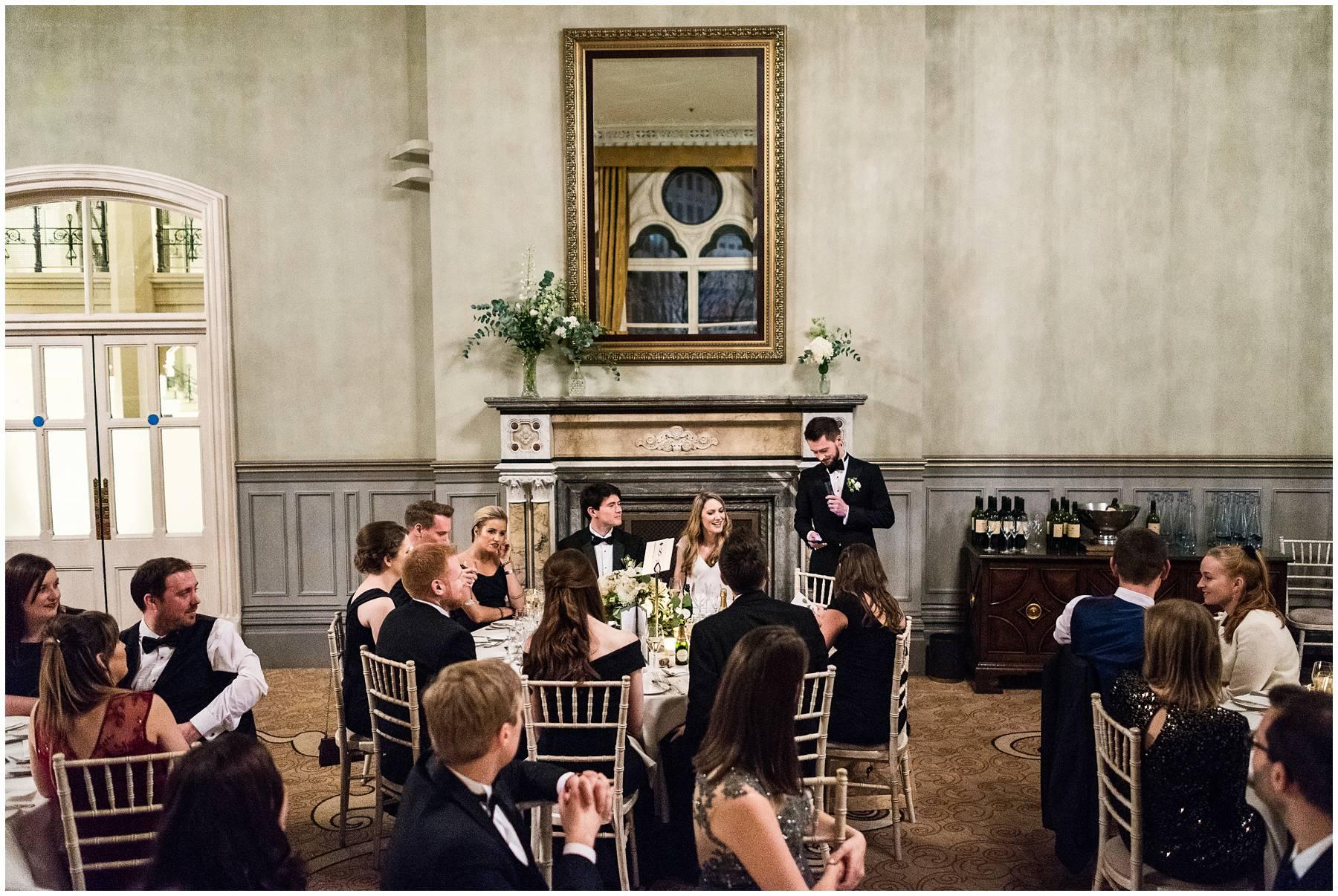 Wedding at St Pancras Renaissance Hotel London