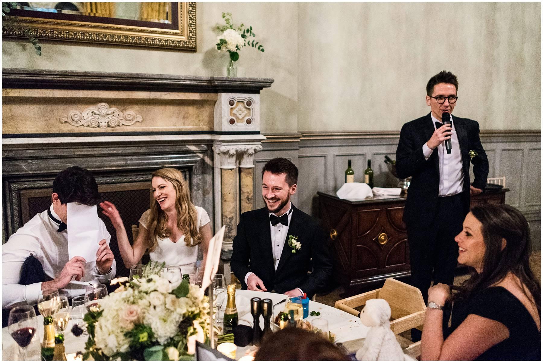 Winter Wedding at St Pancras Renaissance Hotel