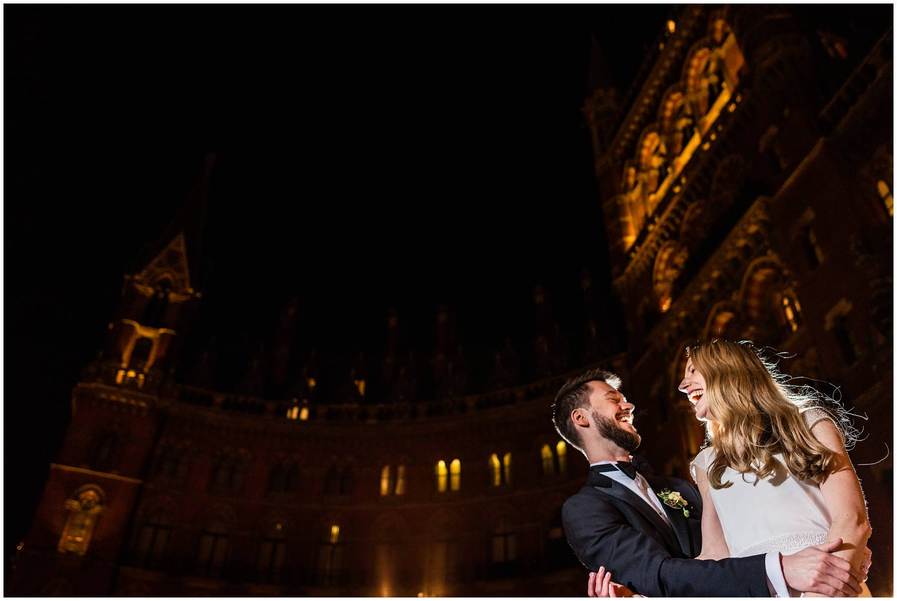 St Pancras Renaissance Hotel Wedding Photographer