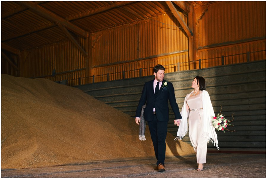 Creative wedding photography at Red Brick Barn